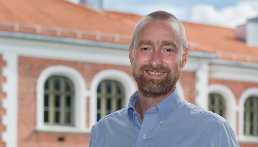 Jostein Myrdal, rektor ved Torderød skole