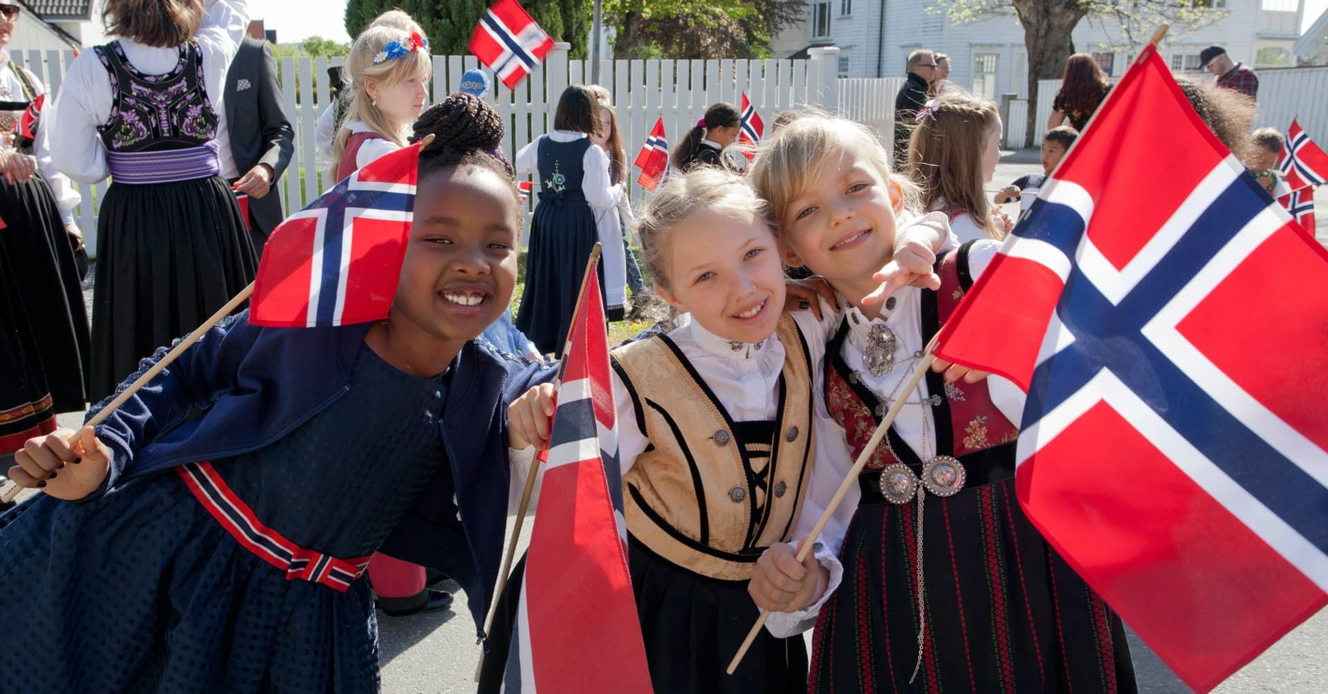 17. mai 2019 Torderød skole - Jeløy - Moss - Barnetoget