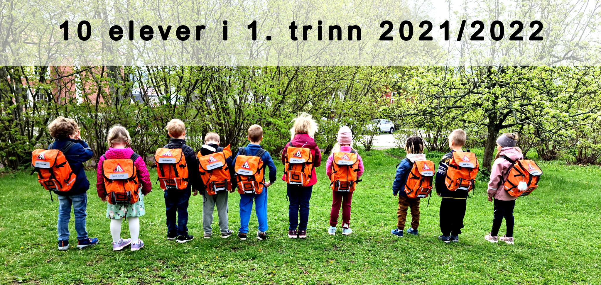 Første klasse 2021-2022